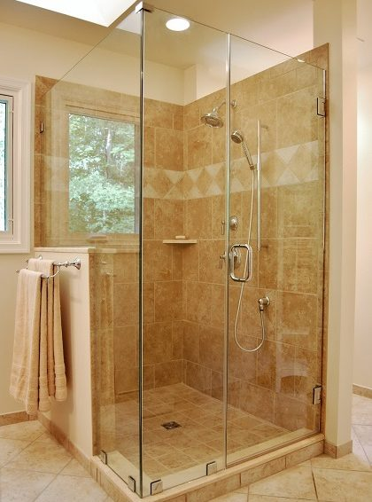 Shower Enclosures - Maple Glass